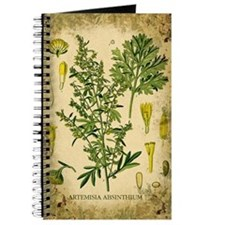 Absinthe Botanical Illustration Journal