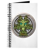 Vine Celtic Greenman Pentacle Journal