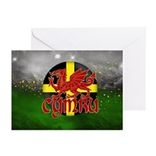 St. David's Day Card With Flag Of Dewi (Pk of 20)