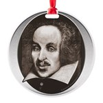 Subliminal Bard's Round Ornament