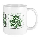 St. Patrick's Day Card Elegant Simple Mug