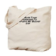Cute Bucket list Tote Bag
