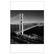 GG Bridge from Battery Spencer Large Poster