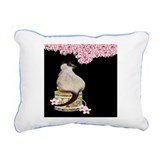 Curious Siamese Rectangular Canvas Pillow