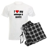 """Love Menage a Quatre"" pajamas"