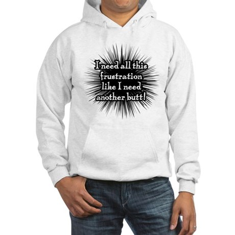 Frustration Hooded Sweatshirt