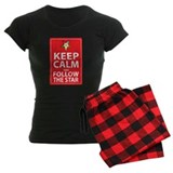 Keep Calm Follow the Star pajamas