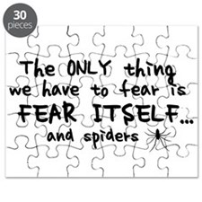 Fear itself and spiders Puzzle
