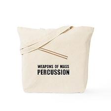 Drum Mass Percussion Tote Bag