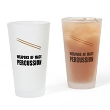 Drum Mass Percussion Drinking Glass