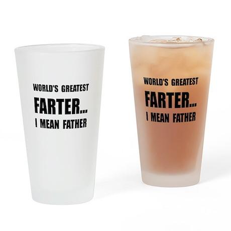 Greatest Farter Drinking Glass