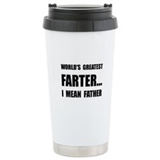Greatest Farter Ceramic Travel Mug