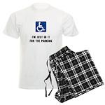 Handicap Parking Men's Light Pajamas
