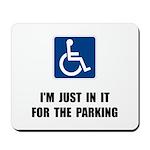 Handicap Parking Mousepad