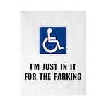 Handicap Parking Twin Duvet