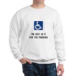 Handicap Parking Sweatshirt