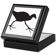 pukeko swamphen Keepsake Box