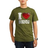 I Heart Borneo T-Shirt