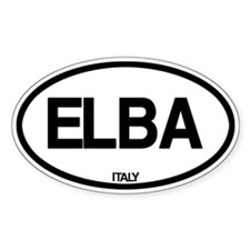 Elba, Italy Decal