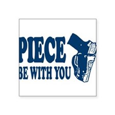 PIECE Be With You Rectangle Sticker