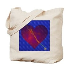 The Heart Of Conception Tote Bag