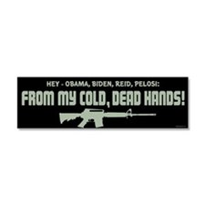 From My Cold Dead Hands! Car Magnet 10 x 3