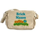 Brick Mason Extraordinaire Messenger Bag