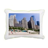 Cloud Gate sculpture in Chicago - Pillow