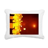 Quantum computing, conceptual artwork - Pillow
