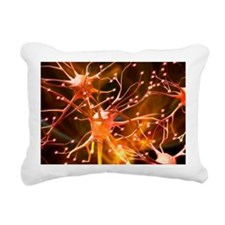 Nerve cells, artwork - Pillow