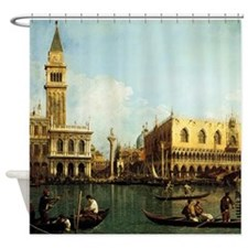 Canaletto The Pier Shower Curtain