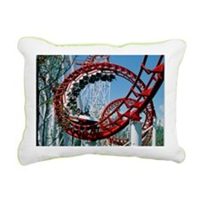 Corkscrew coil on a rollercoaster ride - Pillow
