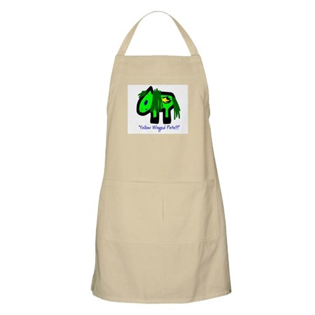 """""""Yellow Winged Pete!!!"""" BBQ Apron"""