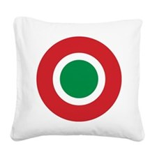 Italian Air Force low vis roundel Square Canvas Pi