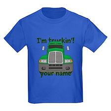 Personalized Im Truckin T