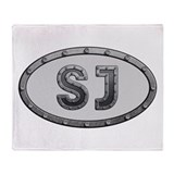 SJ Metal Throw Blanket