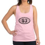 SJ Metal Racerback Tank Top