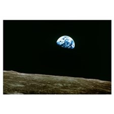 Earthrise over Moon, Apollo 8