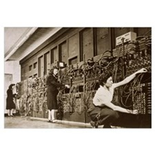 ENIAC, the second electronic calculator