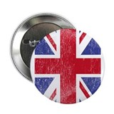 "Union Jack - Flag of Great Britain 2.25"" Button"