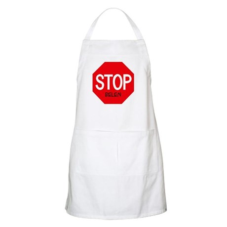 Stop Belen BBQ Apron