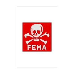 FEMA Mini Poster Print