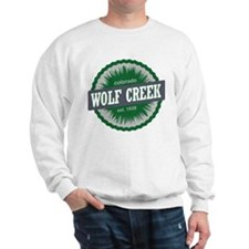 Wolf Creek Ski Resort Colorado Green Sweatshirt