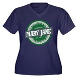 Mary Jane Ski Resort Colorado Green Women's Plus S