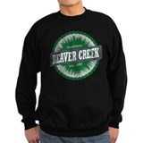 Beaver Creek Ski Resort Colorado Green Jumper Sweater
