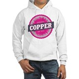 Copper Mountain Ski Resort Colorado Pink Hoodie
