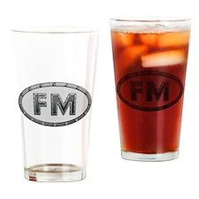 FM Metal Drinking Glass