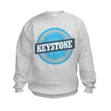 Keystone Ski Resort Colorado Sky Blue Sweatshirt