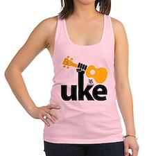 Uke Fist Racerback Tank Top