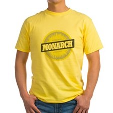 Monarch Ski Resort Colorado Yellow T